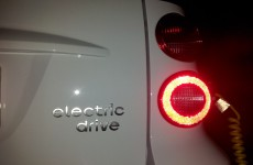 Smart Electric Drive Typenschild