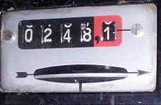 Stromzählerstand vor dem Aufladen