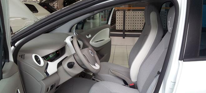Das Cockpit von der Seite