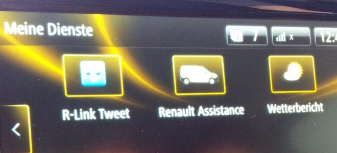 Für R-Link gibt es auch eine Twitter-App