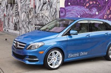 Mercedes Benz B-Klasse Electric Drive (Bild: © Daimler).