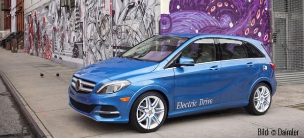 Mercedes Benz B-Klasse Electric Drive (Bild: © Daimler).