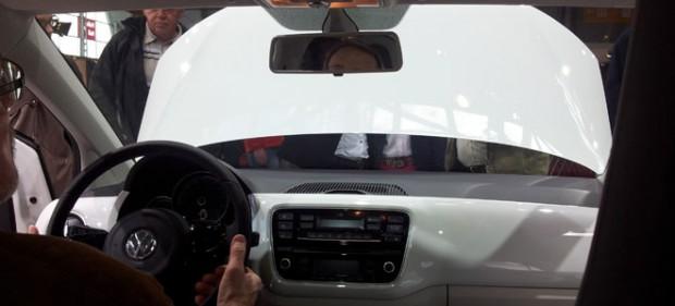 Der VW E-Up von innen