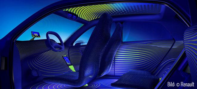 Twin'Z - Reduziertes Interieur (Bild: © Renault)
