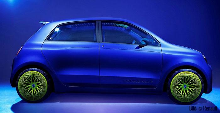 Twin'Z -Seitliche Silhouette (Bild: © Renault)