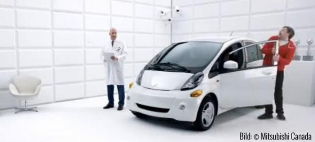 Mitsubishi sagt der Elektrophobie den Kampf an! (Bild: © Mitsubishi Canada)