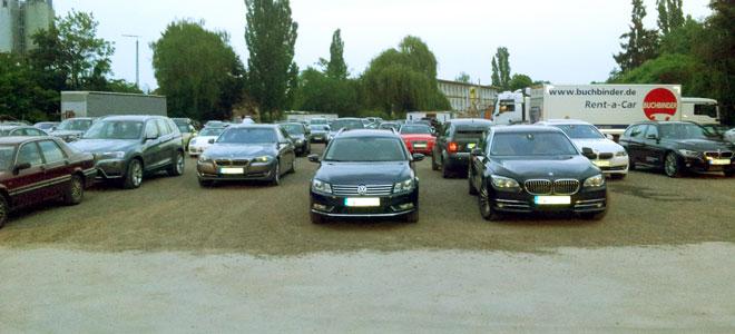 Die meisten Gäste kamen in der automobilen Oberklasse