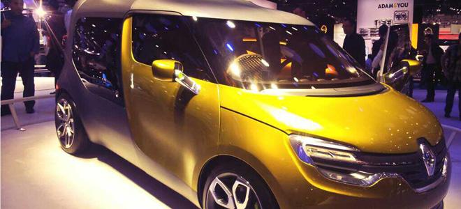 Der Stadtlieferwagen der Zukunft? Renault FRINDZY.