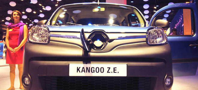 Kangoo Z.E. Facelift