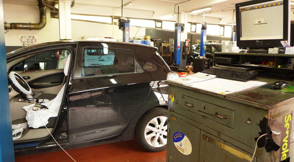 Renault Zoe Inspektion Die Zweite Zoepionierinzoepionierin