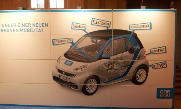 Das Innenleben eines Smart Electric Drive