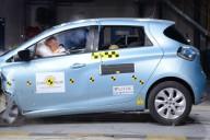 Renault Zoe im Frontalcrashtest (Bild: © Renault)