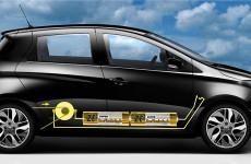 """ZoePionierin.de Edition """"Wie funktioniert Elektromobilität"""" - Design by STEN @goingelectric.de (Eigentlich hat Zoe Frontantrieb)"""